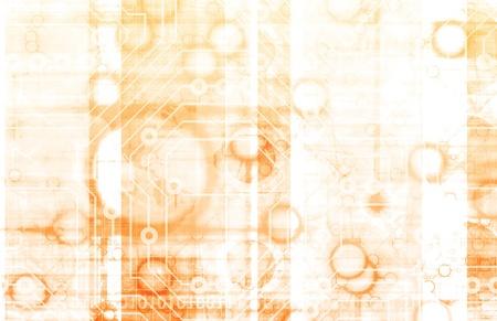 Information Technology or IT Infotech as a Art 版權商用圖片