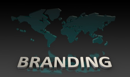 Global Branding and Recognized Product as Concept photo