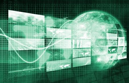 Security Network und Überwachung von Daten im Web Standard-Bild