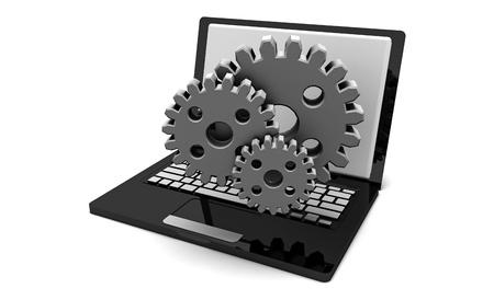 PC 수리 및 개념 등의 시스템 하드웨어 업그레이드 스톡 콘텐츠
