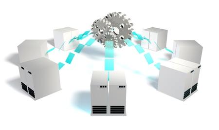 sistemas: Integración de sistemas de componentes como un subsistemas