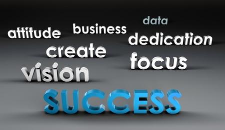 Le succès à l'avant-garde dans la présentation 3d Banque d'images - 10047518