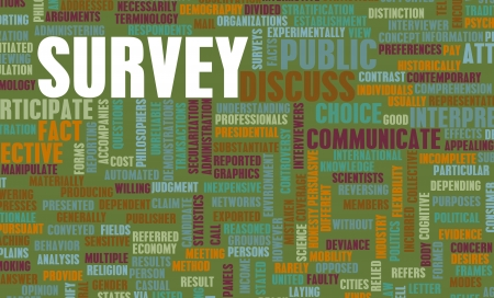 Public Survey Collection of Data on a Demographic photo