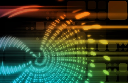 transforming: Futuristic Background in Web Tech Glowing Lines Stock Photo