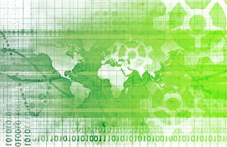 Integrated System Solutions op de Web Platform Stockfoto