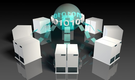 virtual servers: Social Media Servers System on the Internet
