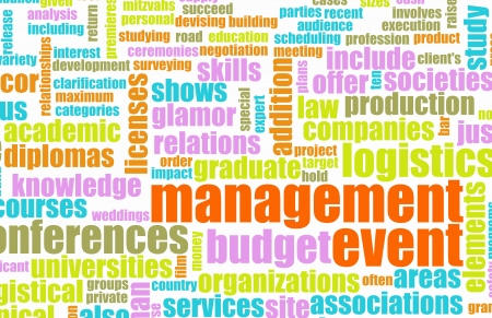 Event Management Services Industry as a Art Stock Photo - 10286960
