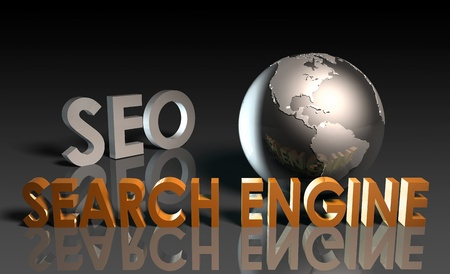 search engine optimized: Search Engine Optimization SEO Ranking as Concept