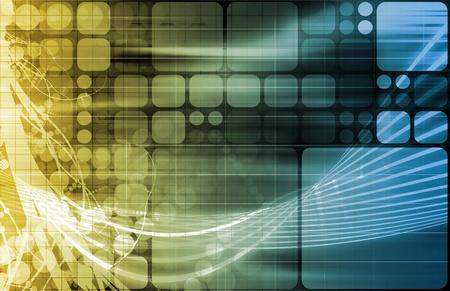 Information Technology or IT Infotech as a Art 写真素材