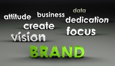 Brand at the Forefront in 3d Presentation photo