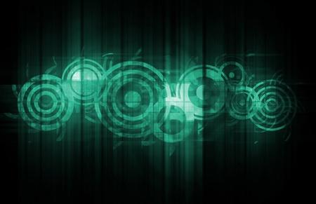 Corporate Communications als een nieuwe technologie Art Stockfoto