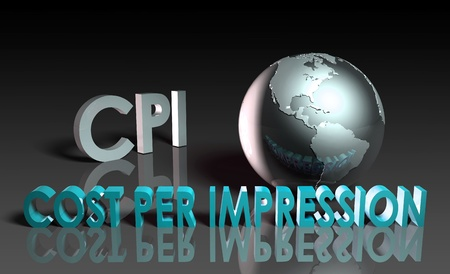 impression: CPI Cost Per Impression Web Advertising Art