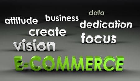 forefront: E-Commerce at the Forefront in 3d Presentation