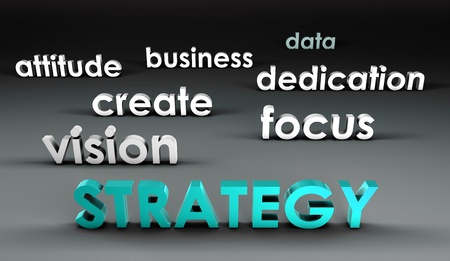 forefront: Strategy at the Forefront in 3d Presentation
