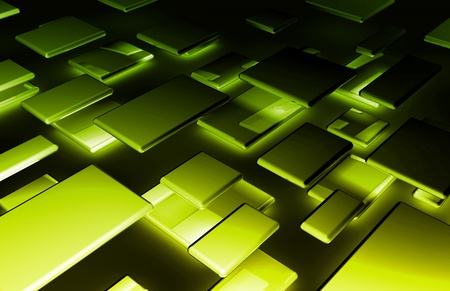 Abstract Background with a Technology Theme Art Stock Photo - 10777107