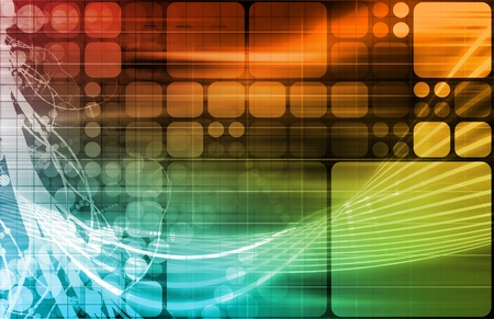 Science Technology Data as a Abstract Art Stock Photo - 10900300