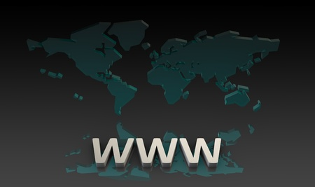 web browser: WWW World Wide Web or the Internet as a Concept