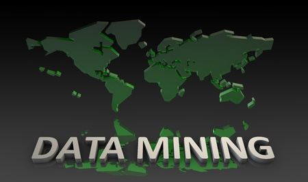 Data Mining With 3d Worldwide Global Dataset photo