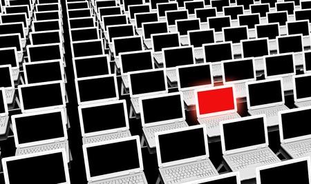 Omputer Training voor Leren als concept Stockfoto - 12437377