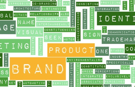 Product Brand with Visual Identity in Business