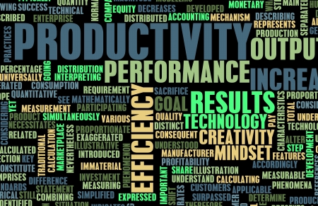 productivity: Aumentando la produttivit� in Office Business Art