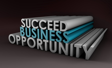 Business Opportunity and the Need to Succeed Stock Photo - 12437273