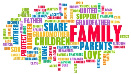 Family as a Important Support Network for Love Stock Photo - 13108474