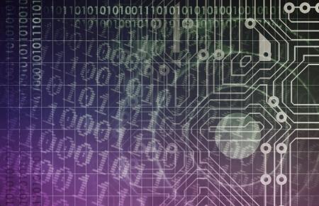 Innovation Through Technology Web and Data Art photo