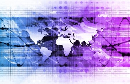 Processus global de gestion de la technologie en tant que concept Banque d'images - 14014488