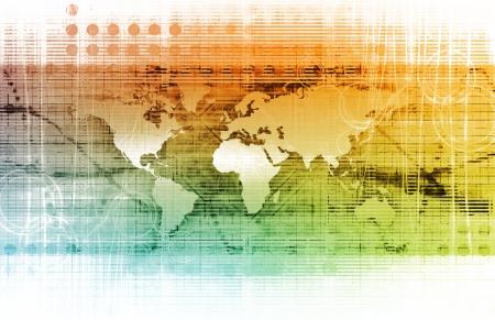 Stratégie de gestion pour un Global Business Company Banque d'images - 14051542