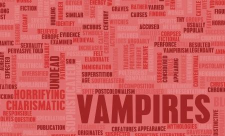 Vampires of the Night Horror Movie Concept photo