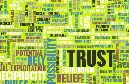 societal: Concept of Trust and Belief in a Person