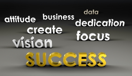 Success at the Forefront in 3d Presentation photo