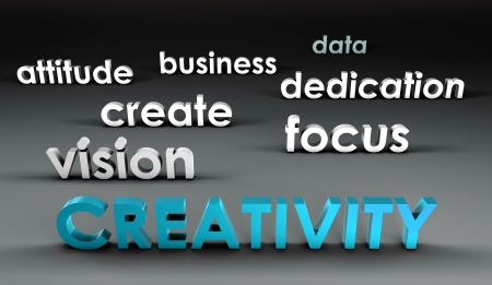 Creativity at the Forefront in 3d Presentation photo
