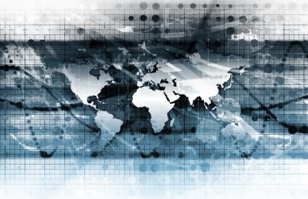 telecomm: Medios de Comunicaci�n en Internet con arte de datos Foto de archivo
