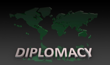 diplomatic: Diplomatic Relations Around the World in 3d