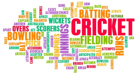 cricket field: Cricket Sport and the Rules of Game