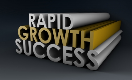 Rapid Growth and Success in a Business Company photo