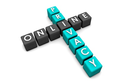 Online Privacy of your Data on the Web Stock Photo - 19143191