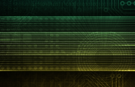 Software Security in Technology System Data Art Stock Photo - 19143255