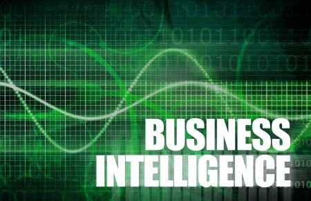 Business Intelligence Analysis to make a Decision Stock fotó