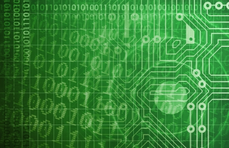 Security Network and Monitoring Data on the Web Stock Photo - 19215298