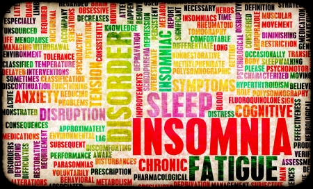 deprivation: Insomnia a Sleep Disorder Concept in Grunge