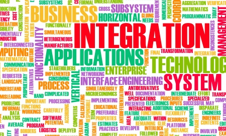Business Integration as Concept in a Application photo