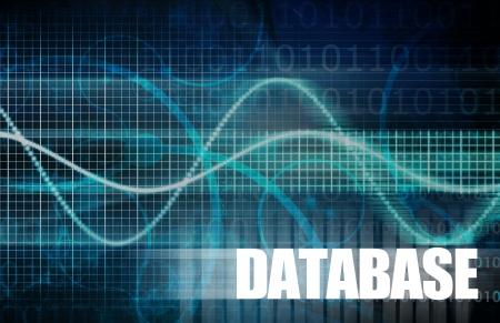 allocation: Database Concept for a Corporate Data Allocation Stock Photo