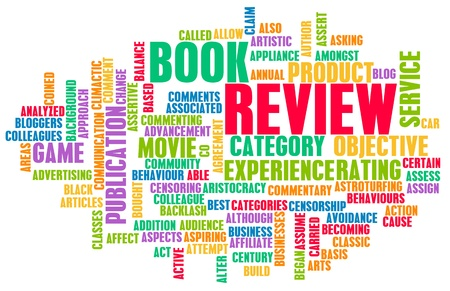 book: Book Review Word Cloud as a Concept