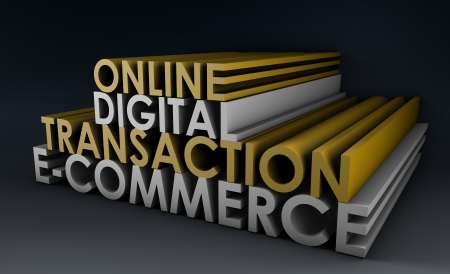 Online Digital Transaction in a E-Commerce Site photo