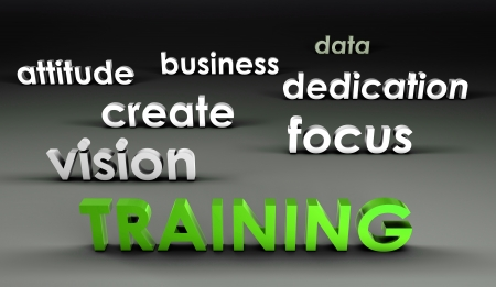 Training at the Forefront in 3d Presentation photo