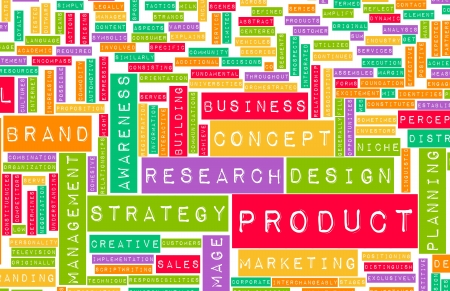lifecycle: Product Design Process and Concept as Art Stock Photo