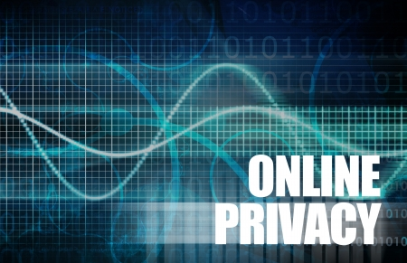 Online Privacy with Web Data on the Internet Stock Photo - 20002510